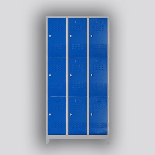 dokuzlu soyunma dolabı mavi