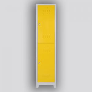 tek ikili soyunma dolapları sarı