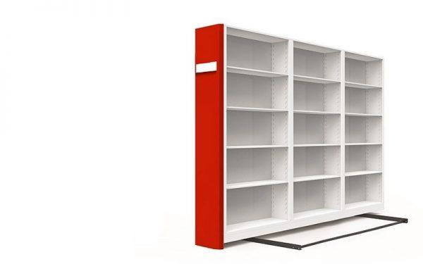 üçlü kompakt arşiv dolabı sistemleri